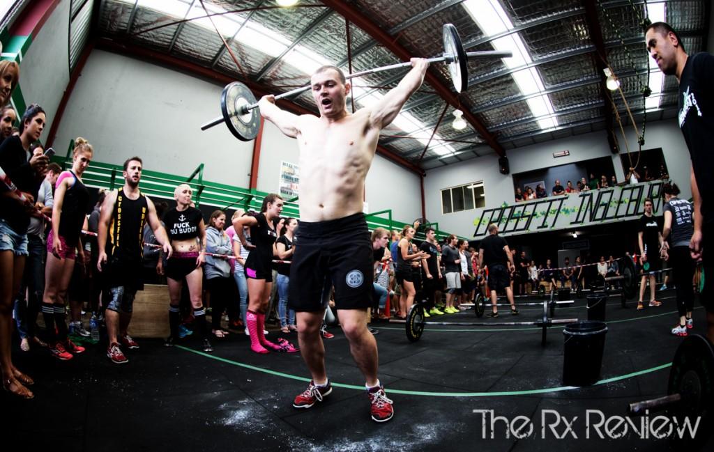 CrossFit Ingleburn's Burnout 2014 Ground to Overhead
