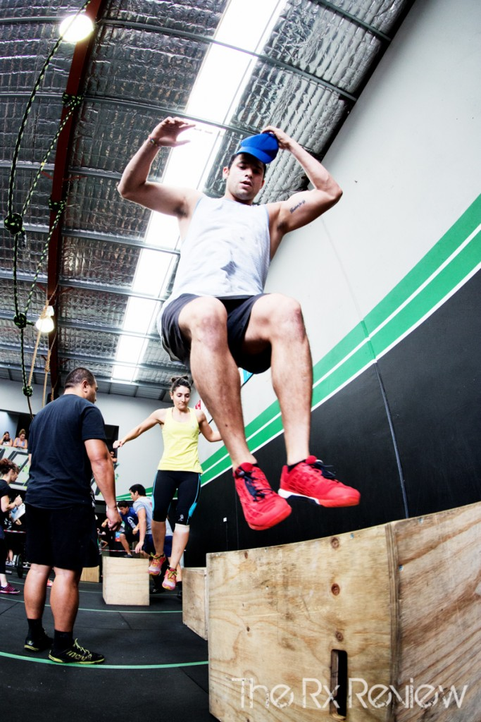 CrossFit Ingleburn's Burnout 2014 Jump over Box