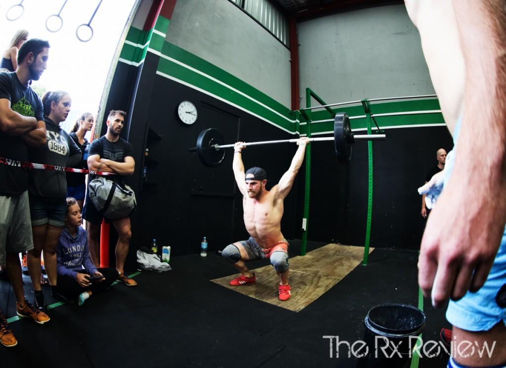 CrossFit Ingleburn's Burnout 2014 Overhead Squats