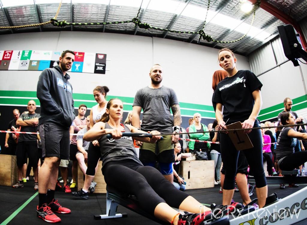 CrossFit Ingleburn's Burnout 2014 Rowing