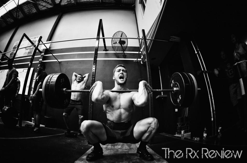 CrossFit Ingleburn's Burnout 2014 Squat Cleans