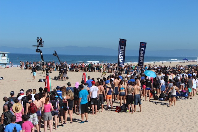 2014 CrossFit Games- The Beach Event 2014 crossfit games day 1