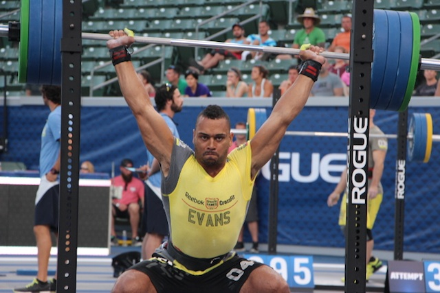 Jeff Evans OHS 2014 CrossFit Games- The Beach Event
