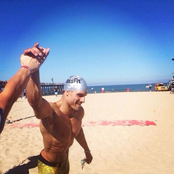 Jordan Troyan 2014 CrossFit Games- The Beach Event 2014 crossfit games day 1