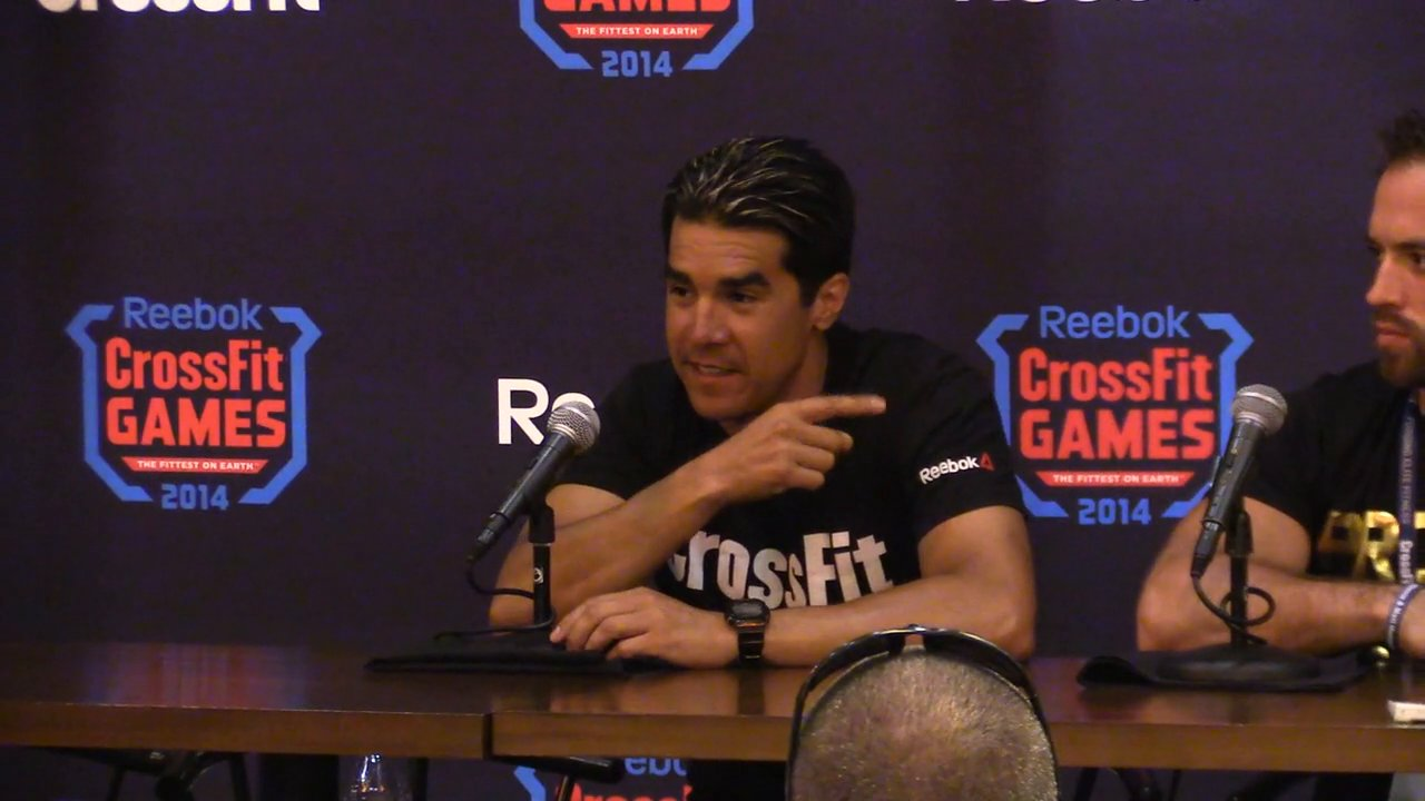 Dave Castro on the rookies at the 2014 crossfit games