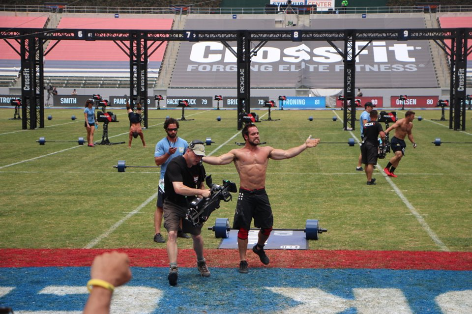 Rich Froning Team Europe going team in 2015