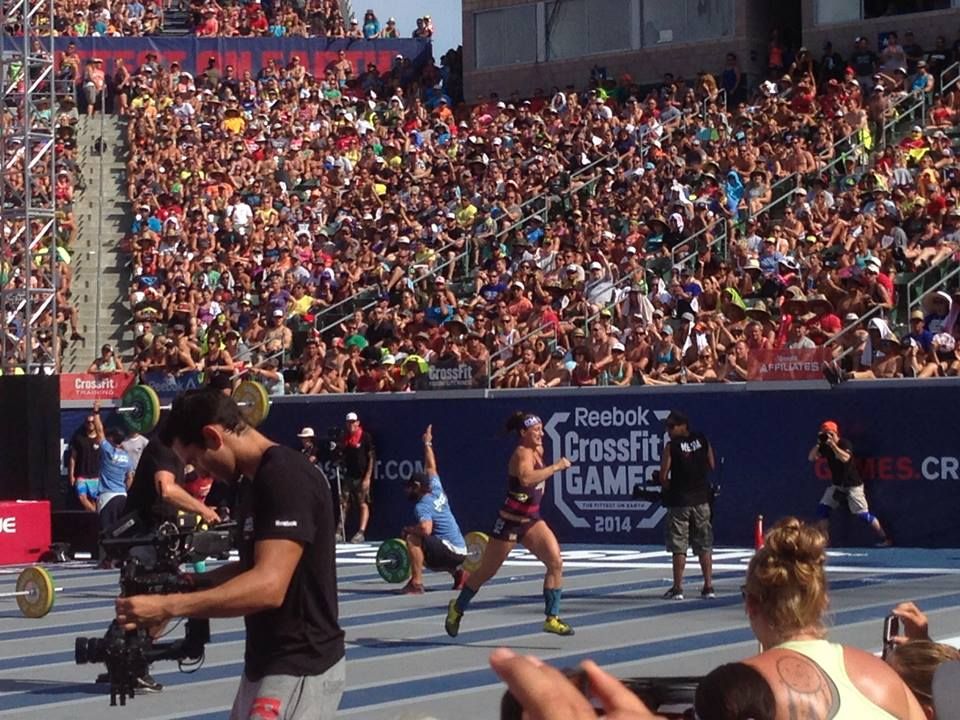 spectators experience at the 2014 crossfit games