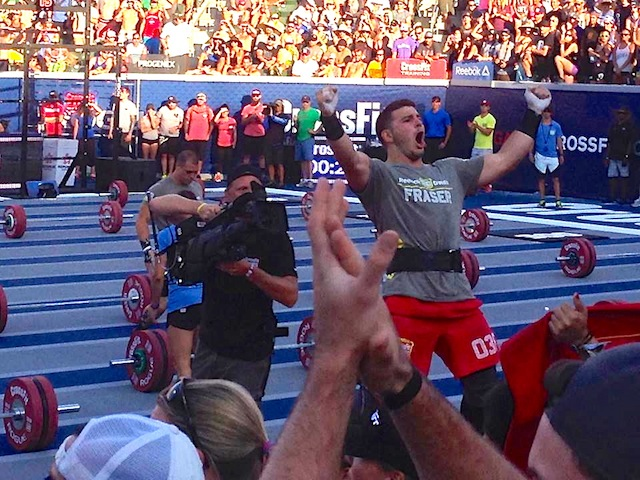 Mat Fraser at the 2014 CrossFit Games