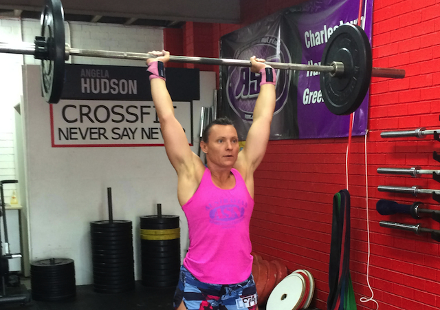 Angela Hudson crossfit open