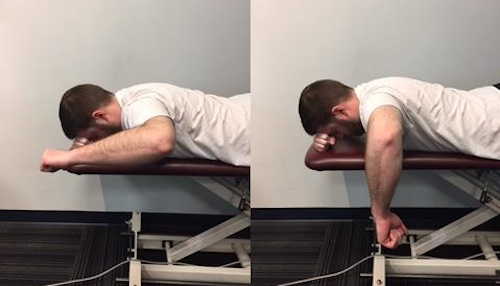 External Rotation with Retraction shoulder exercises prevent injury prevent shoulder injuries