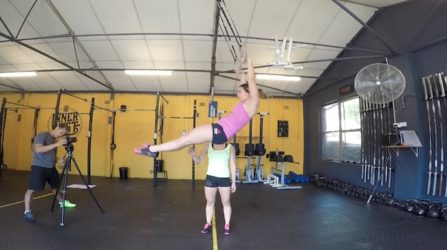 Gymnastics tips kipping  muscle up 1