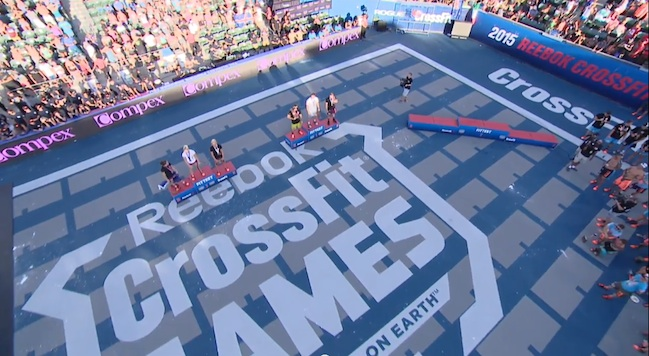 2015 crossfit games final results podiums