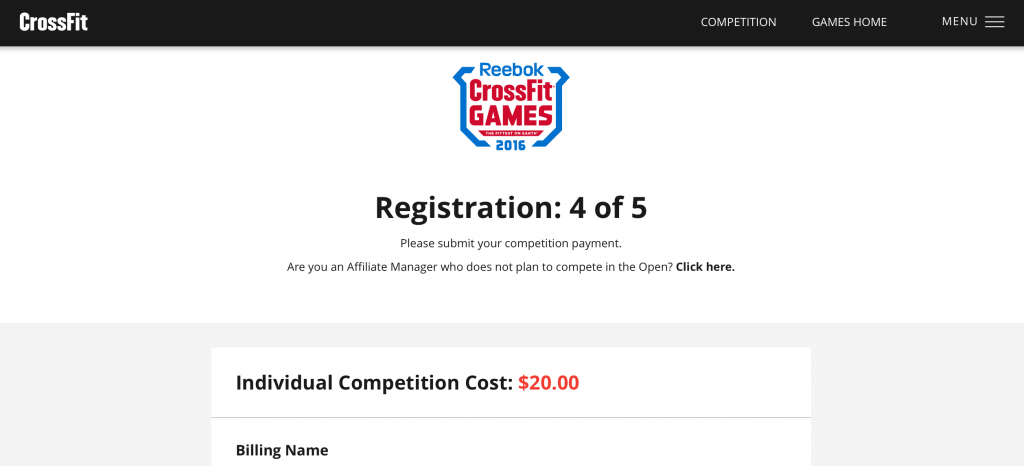 registration open 2016 crossfit open