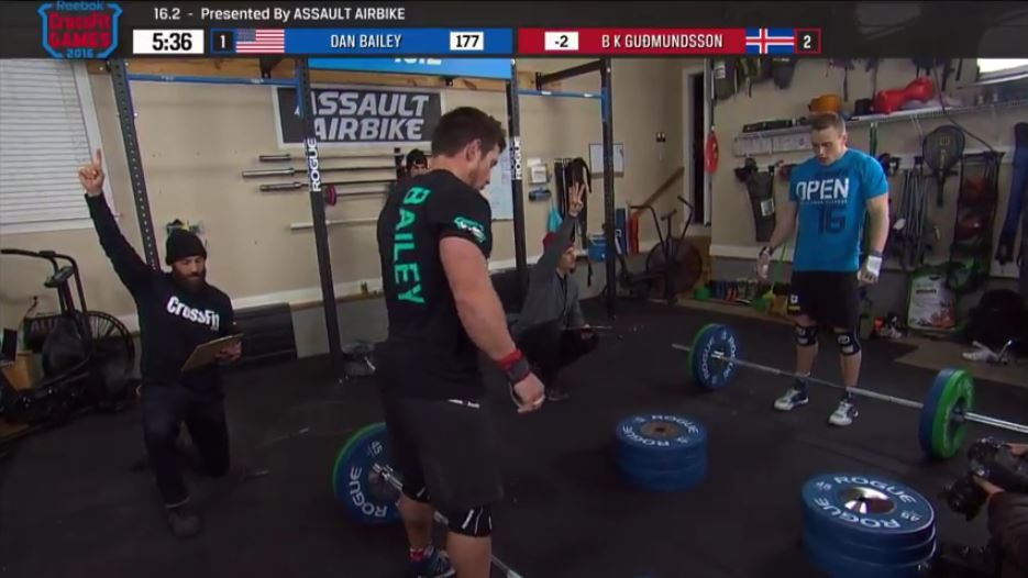 crossfit open 16.2 bailey Bailey Defeats Guðmundsson
