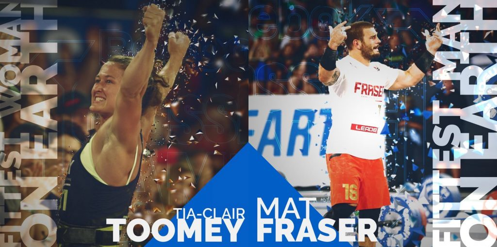 Image result for 2017 crossfit games winners toomey and fraser