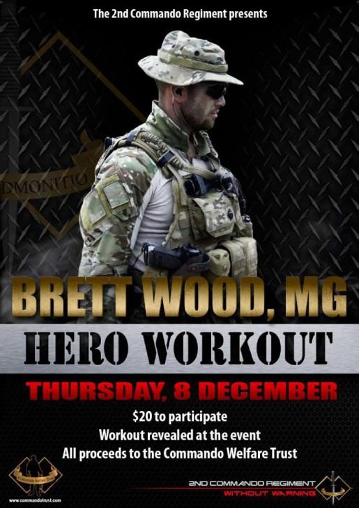 Brett Wood Hero Workout WOD