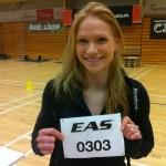 Annie Thorisdottir before the 12.1 workout (Image courtesy of Twitter)