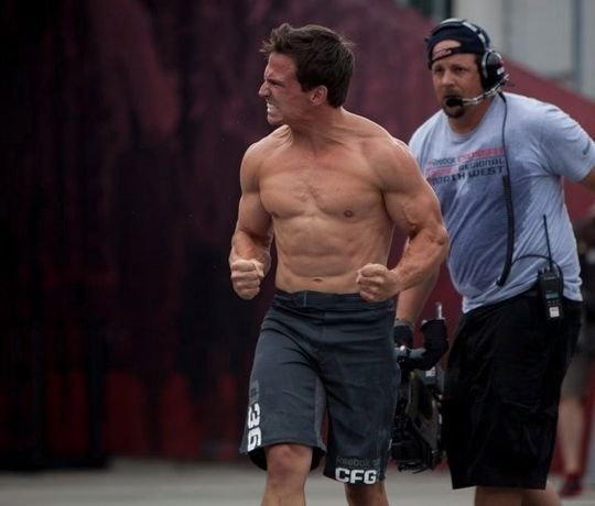 Josh Bridges out of the 2012 CrossFit Games