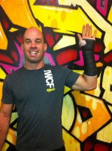 Dave Buckley CrossFit Broken Wrist