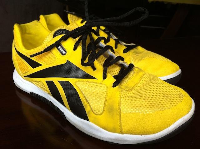 reebok crossfit yellow