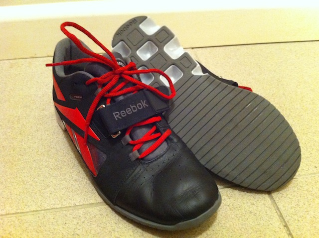 952812d8d69901 Review  Reebok CrossFit Oly Shoes -- The Rx Review