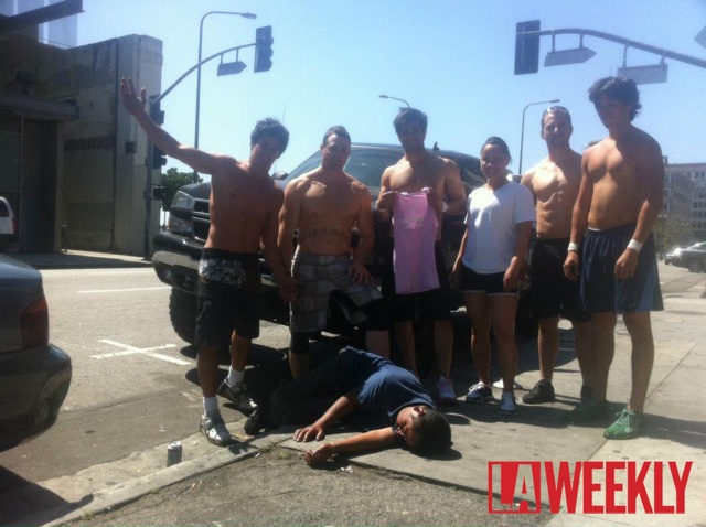 CrossFit Mean Streets' With a Passed Out Homeless Man