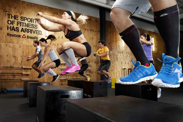 Box Jumps!