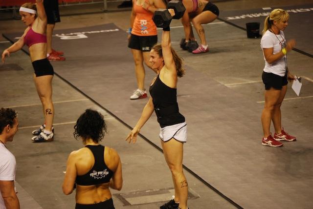 Megan Smith 2012 CrossFit Australian Regionals