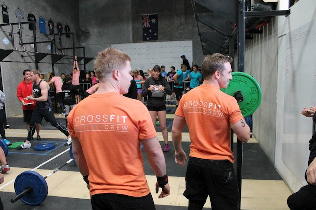 CrossFit: Deian Cousin (L) Luke Star (R)
