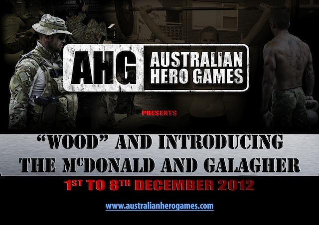 Australian Hero Games Poster