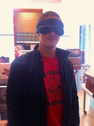 Michael Brookstone Eye Mask