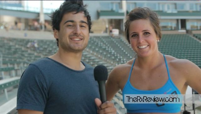 John and Stacie Tovar at the 2012 CrossFit Games
