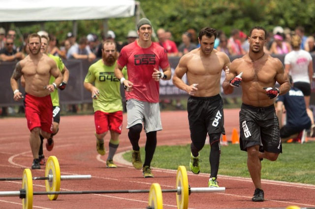 Neal Maddox at the CrossFit Games
