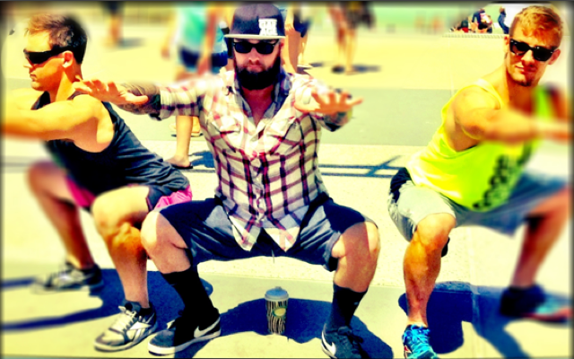 Brandon Swan, Rudy Nielsen and Daniel Tyminski