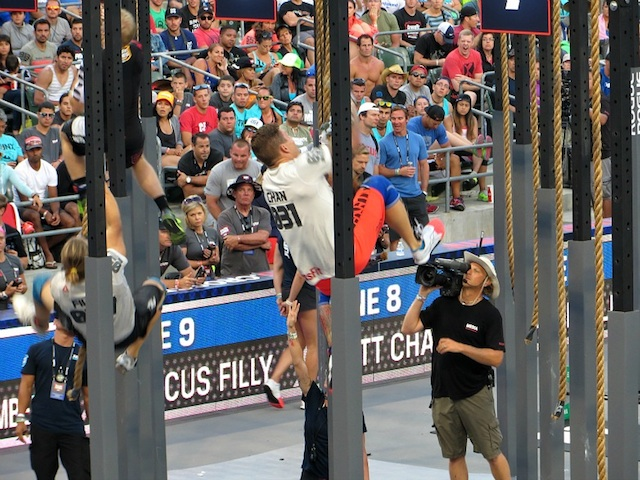 Matt Chan During 'Legless' at the 2013 CrossFit Games