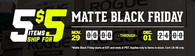 Rogue Fitness Black Friday