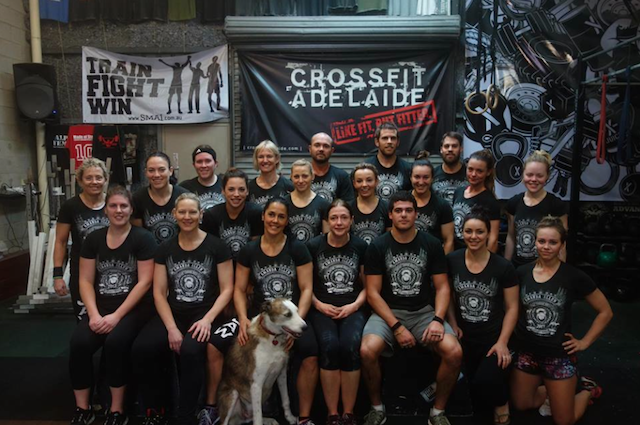 Me, Pepper & the CrossFit Adelaide Crew