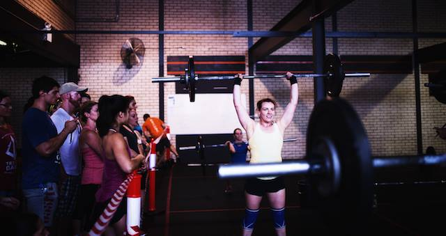 Emily Cooper at CrossFit Marrickville