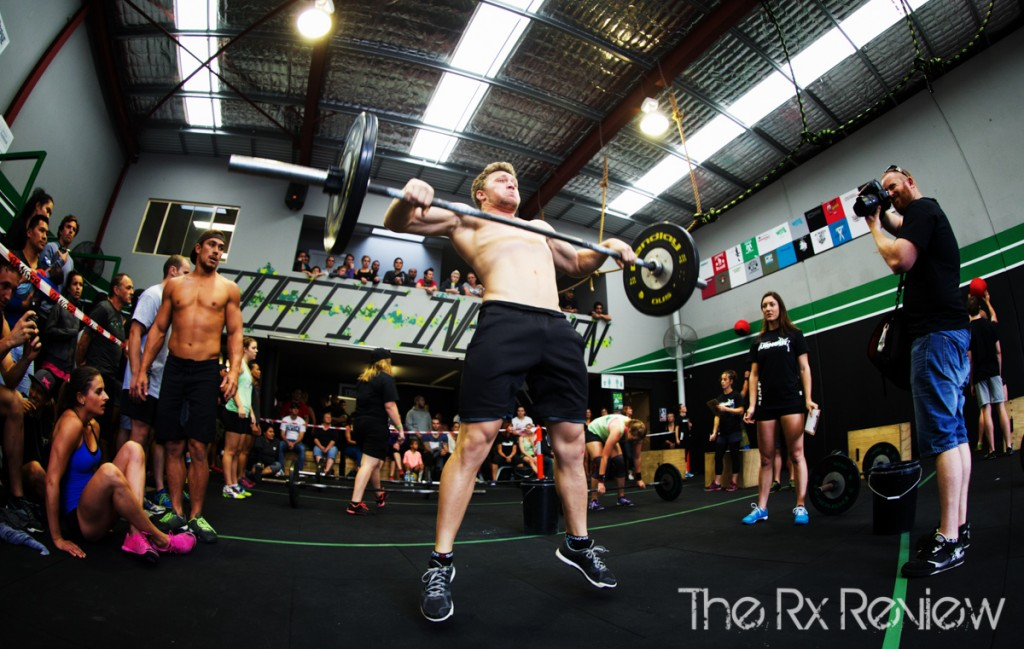CrossFit Ingleburn's Burnout 2014 Ground to Overhead