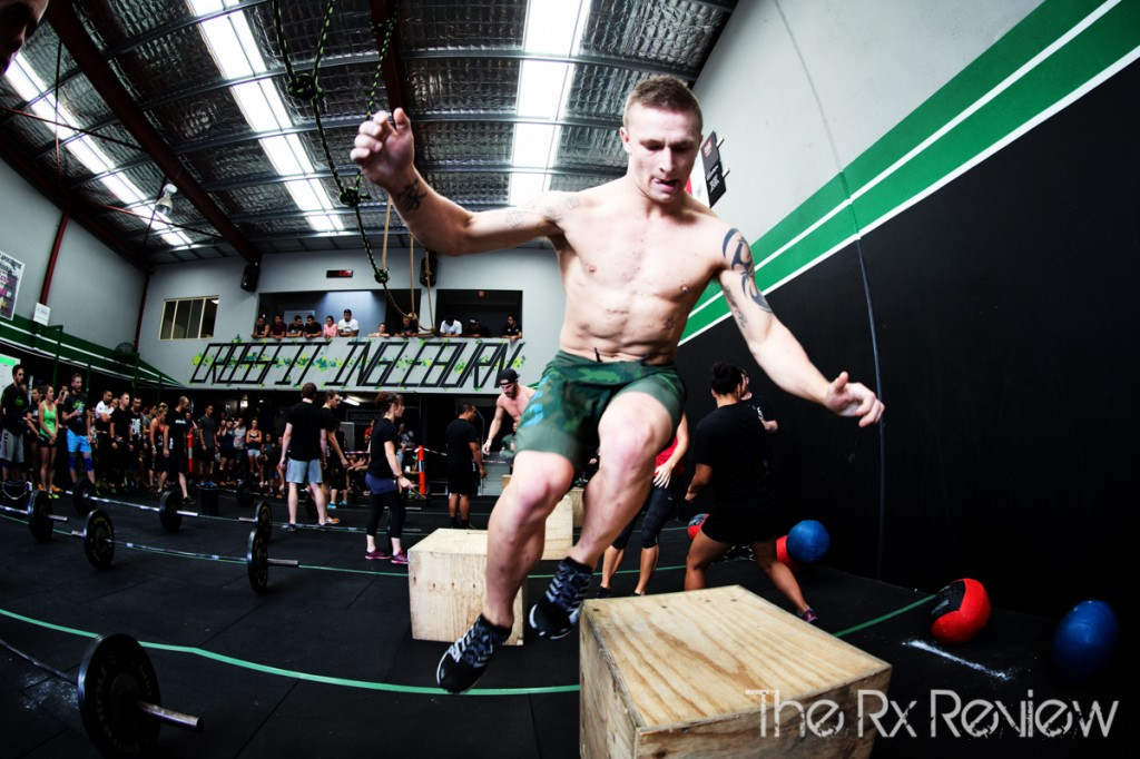 CrossFit Ingleburn's Burnout 2014 Jump over Box