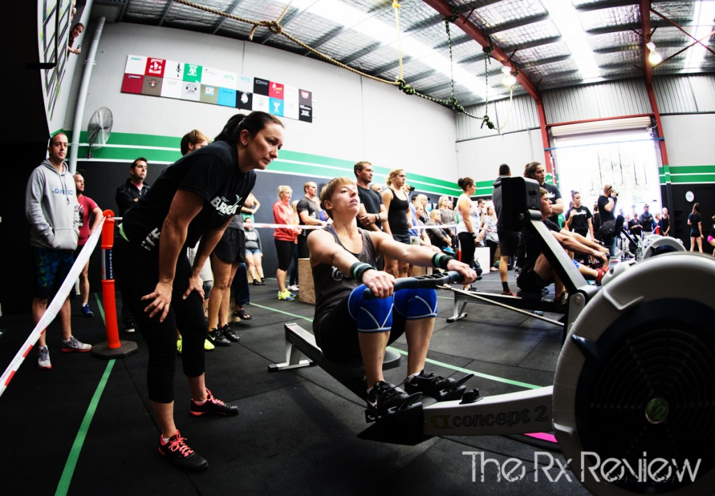 CrossFit Ingleburn's Burnout 2014 Rowing