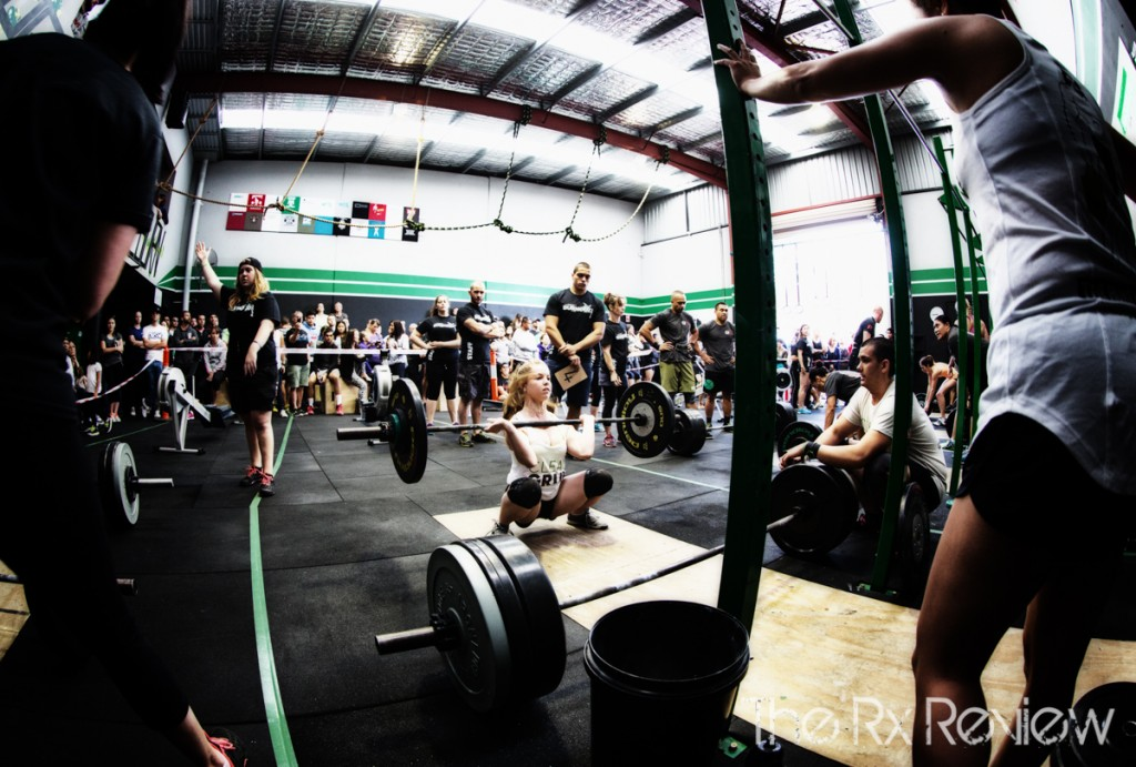 CrossFit Ingleburn's Burnout 2014 Squat Cleans