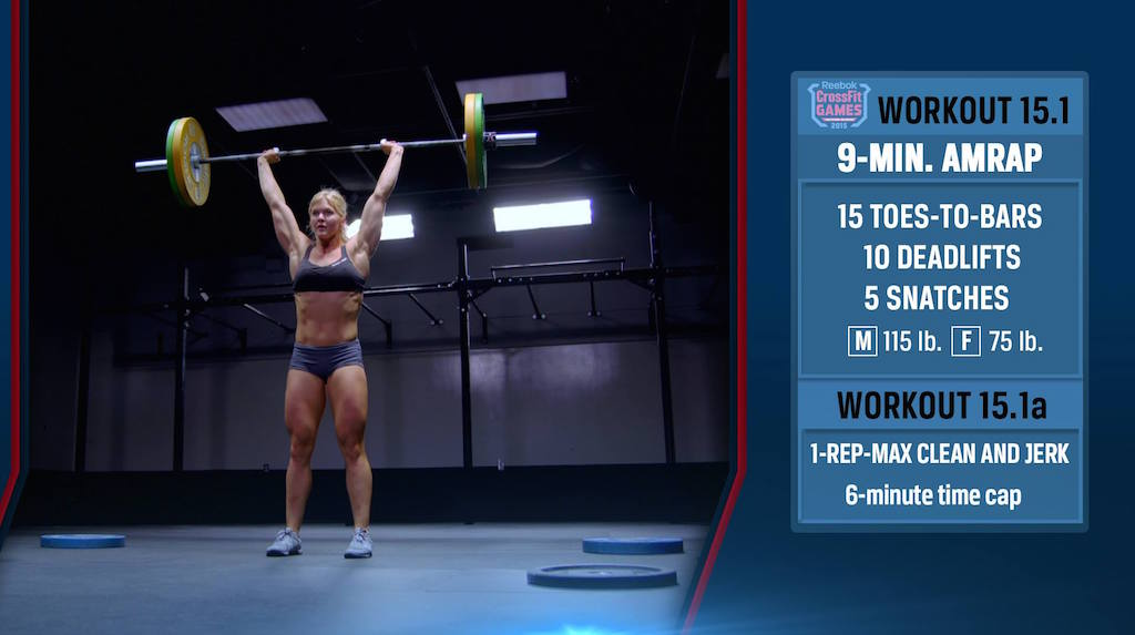CrossFit Open 15.1 Movements